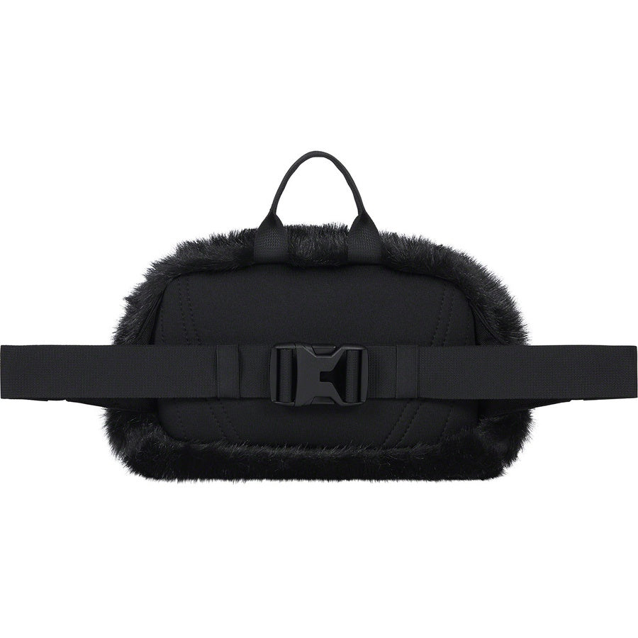 Supreme x The North Face (TNF) Faux Fur Waist Bag Black FW20 | Hype Vault | Malaysia's Leading Streetwear Store | Authentic without a doubt