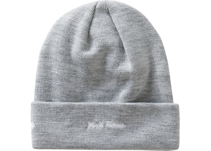 Supreme New Era Cross Box Logo Beanie Heather Grey FW20 | Hype Vault | Malaysia's Trusted Streetwear Store | Authenticity guaranteed