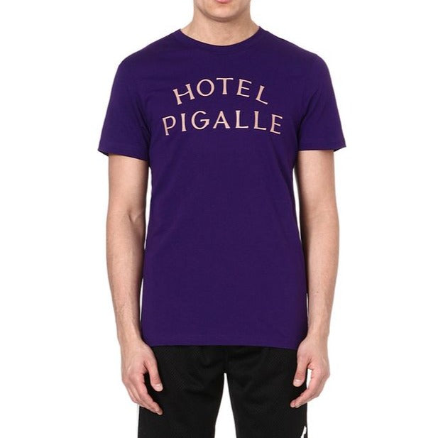 Pigalle Hotel Tee Purple | Hype Vault Malaysia