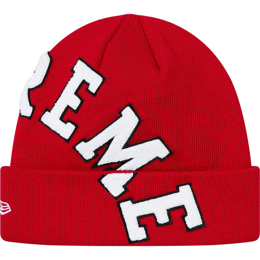 Supreme New Era Big Arc Beanie Red | Hype Vault Malaysia