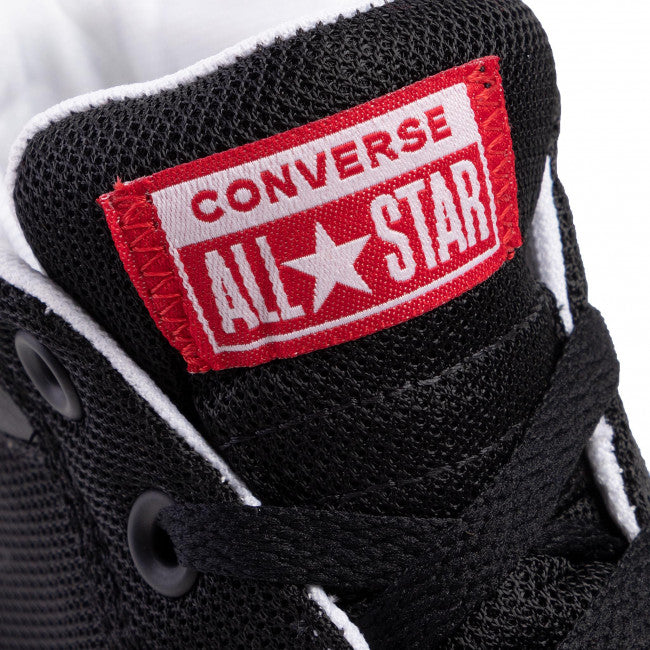 Converse Chuck Taylor All Star Street Mid Black Red | Hype Vault Malaysia