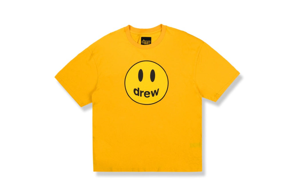 Drew House Mascot SS Tee Golden Yellow | Hype Vault Malaysia