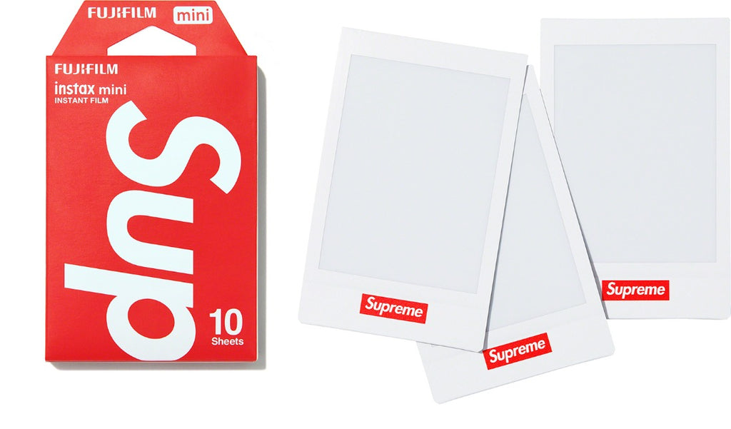 Supreme Fujifilm Instax Mini Instant Film (Pack of 10) - Hype Vault Malaysia