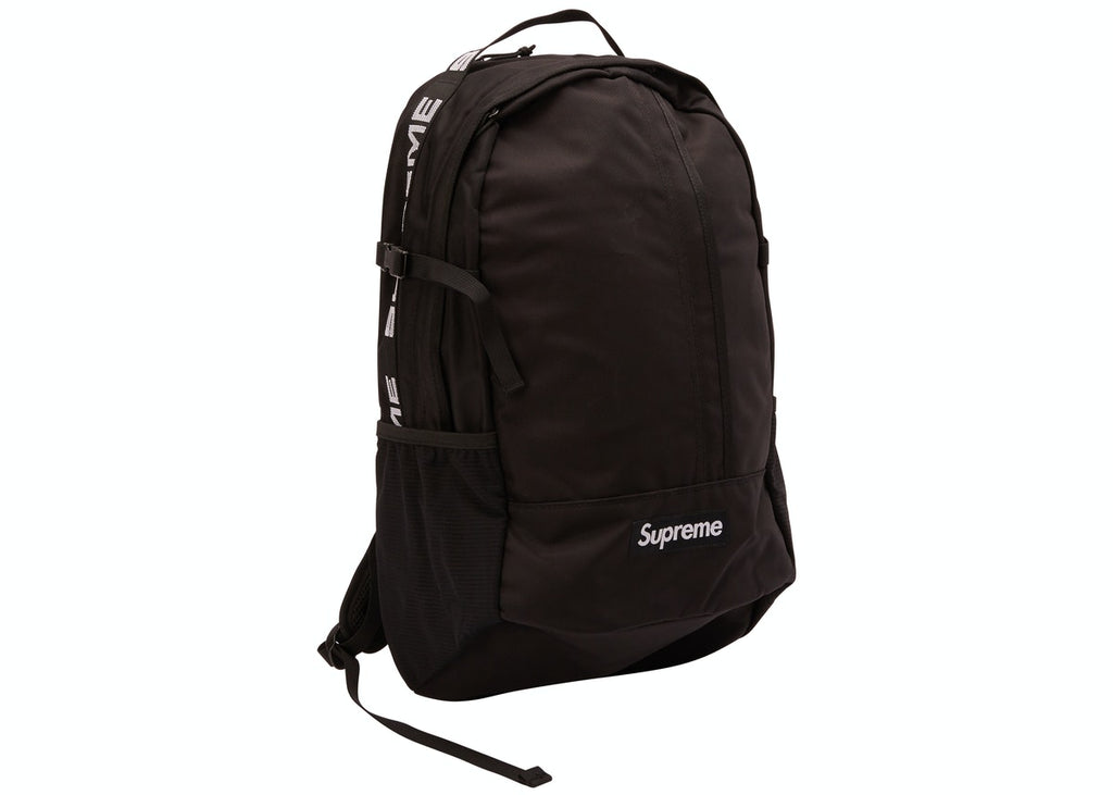 Supreme Backpack SS18 Black - Hype Vault Malaysia