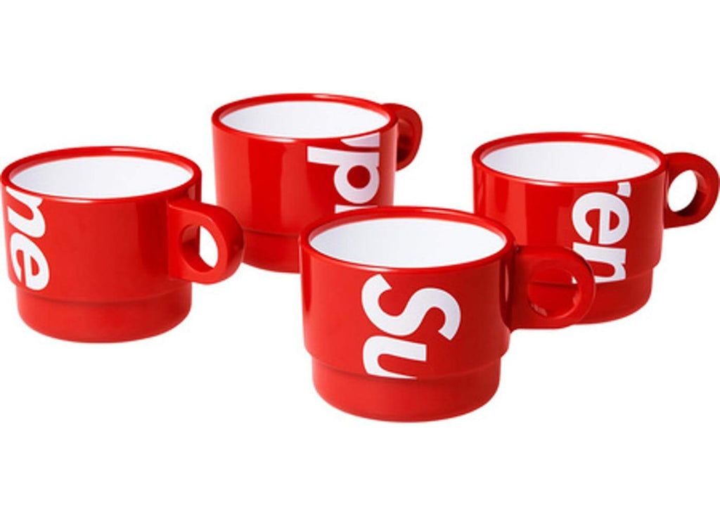 Supreme Stacking Cups (Set of 4) - Hype Vault Malaysia
