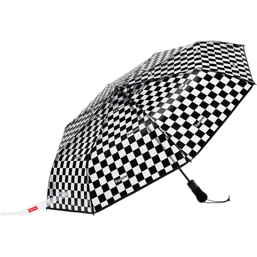 Supreme ShedRain Transparent Checkerboard Umbrella - Hype Vault Malaysia