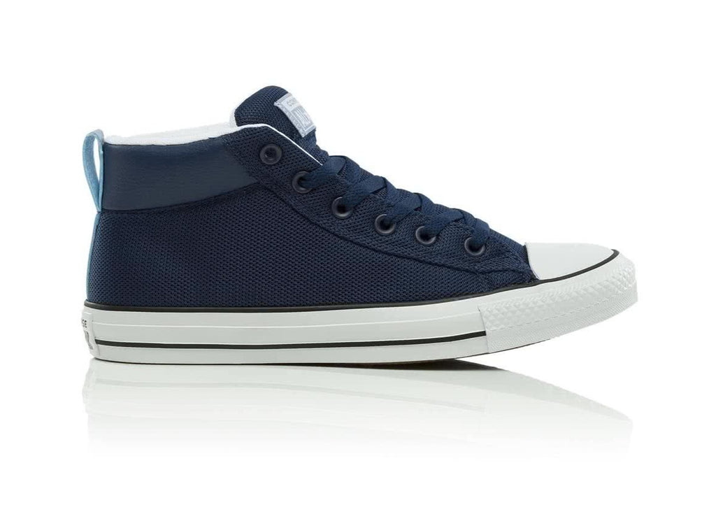 Converse Chuck Taylor All Star Street Mid Sneaker Navy | Hype Vault Malaysia