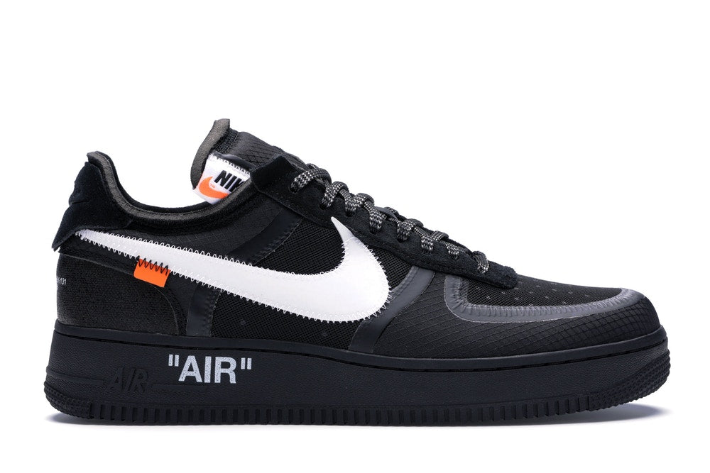 Off-White x Nike Air Force 1 Low Black - Hype Vault Malaysia