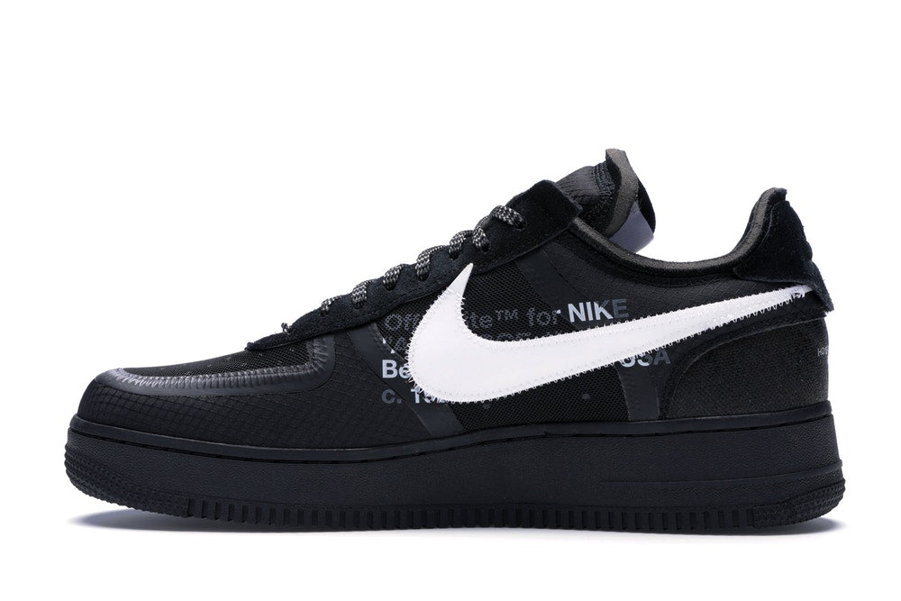 Off-White x Nike Air Force 1 Low Black