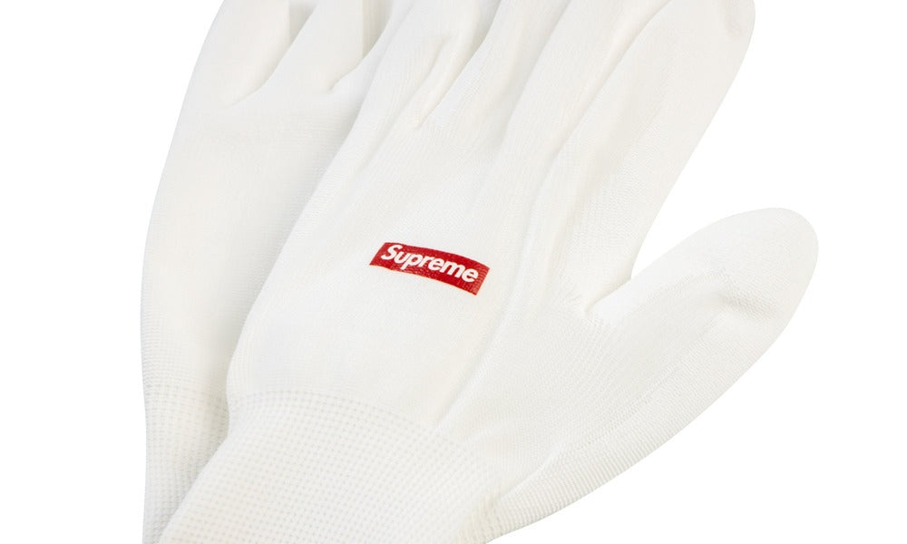 Supreme Box Logo Rubberized Gloves - Hype Vault