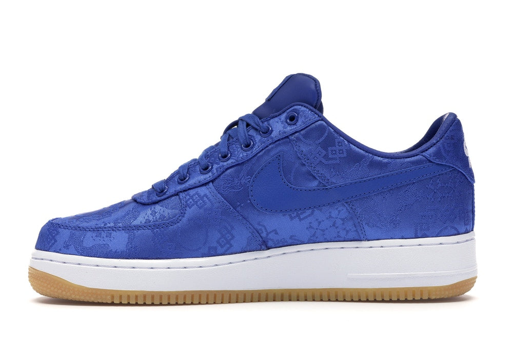 CLOT x Air Force 1 PRM 'Blue Silk'