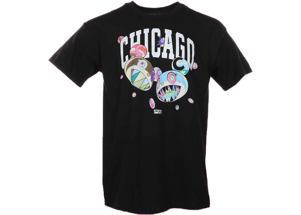 Takashi Murakami ComplexCon Chicago Discord Tee Black (Size S) [Last Piece] - Hype Vault Malaysia