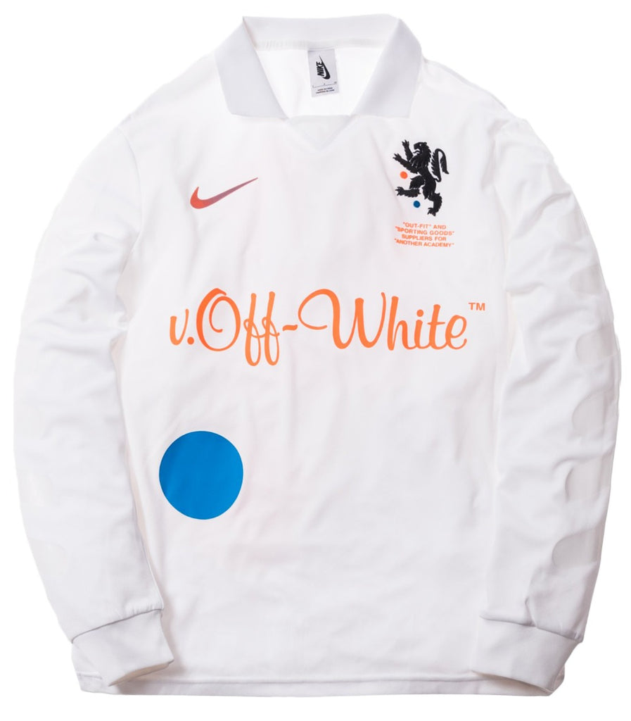 OFF-WHITE x Nikelab Mercurial NRG X FB Jersey White | Hype Vault Malaysia