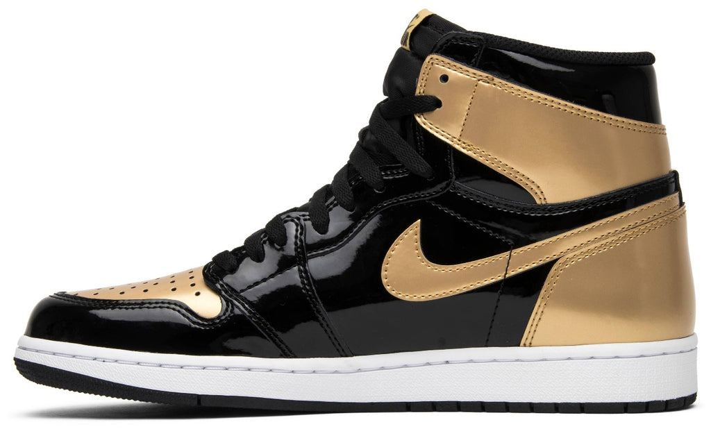 Air Jordan 1 Retro High OG NRG 'Gold Toe' (Size UK 8.5) - Hype Vault Malaysia