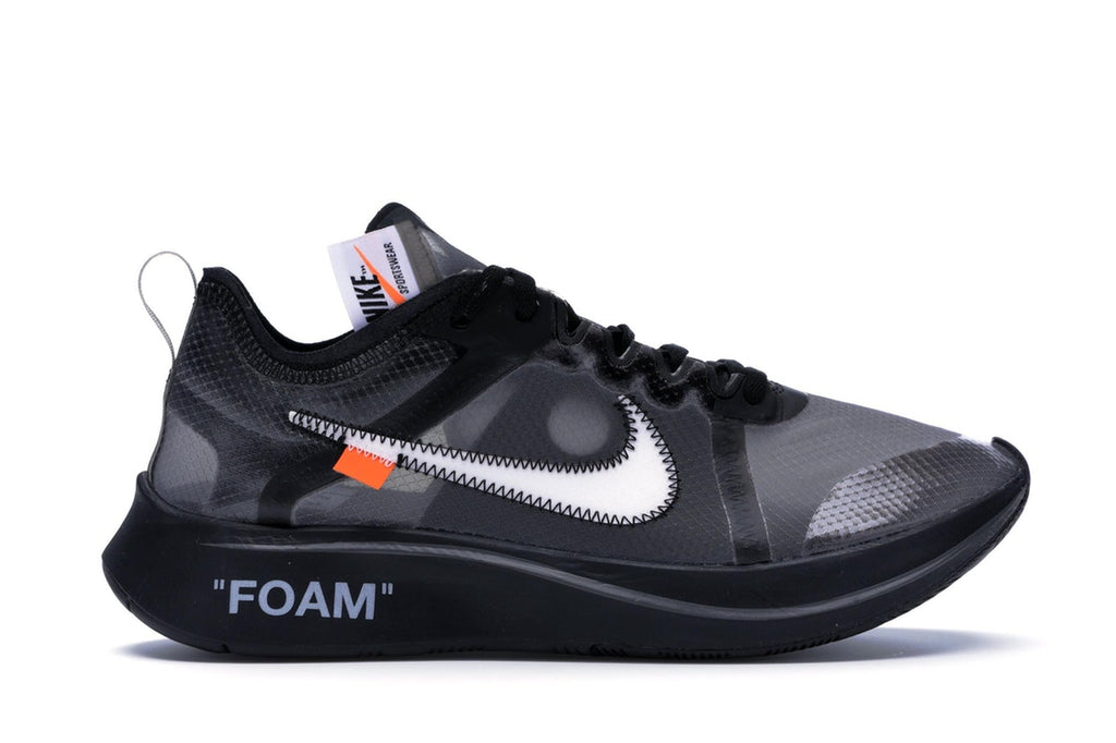 OFF-WHITE x Zoom Fly Black Silver