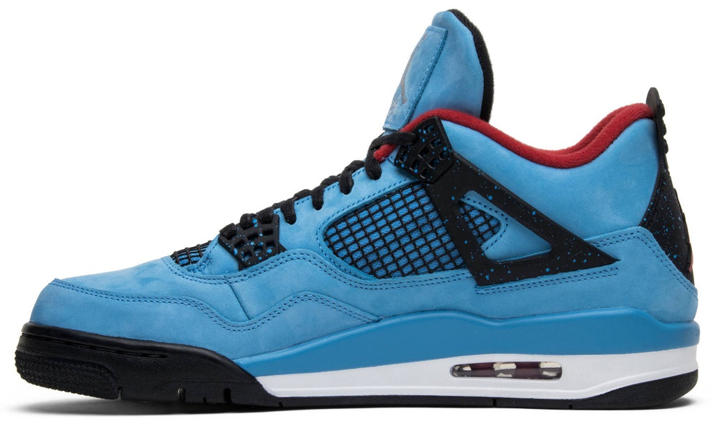 Travis Scott x Air Jordan 4 Retro 'Cactus Jack' (Size UK 8.5) - Hype Vault Malaysia