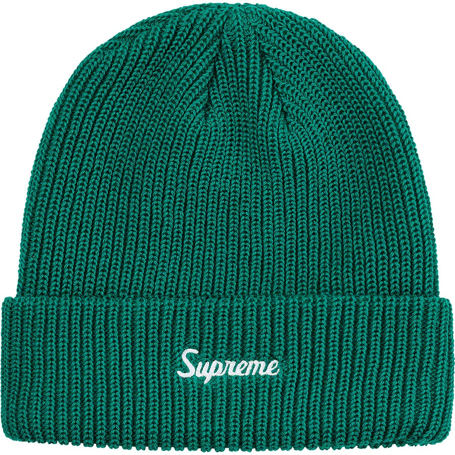Supreme Loose Gauge Beanie Teal | Hype Vault Malaysia