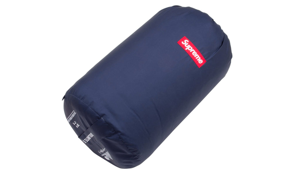 Supreme x The North Face Bandana Dolomite Sleeping Bag Navy | Hype Vault Malaysia