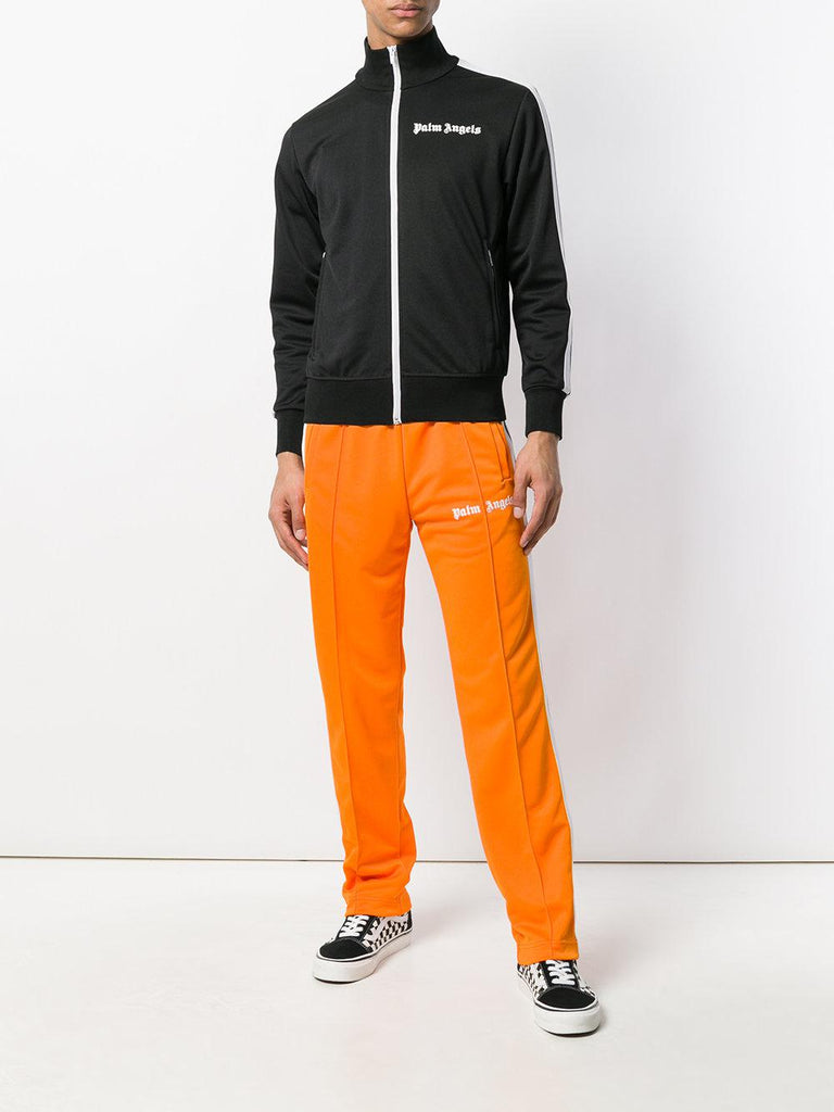 Palm Angels Logo Track Pants Orange (Size M)