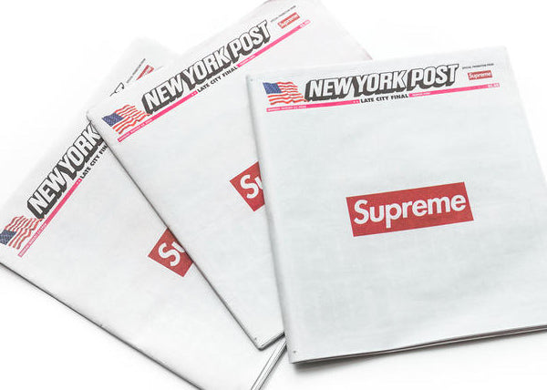 Supreme Newspaper Box Logo