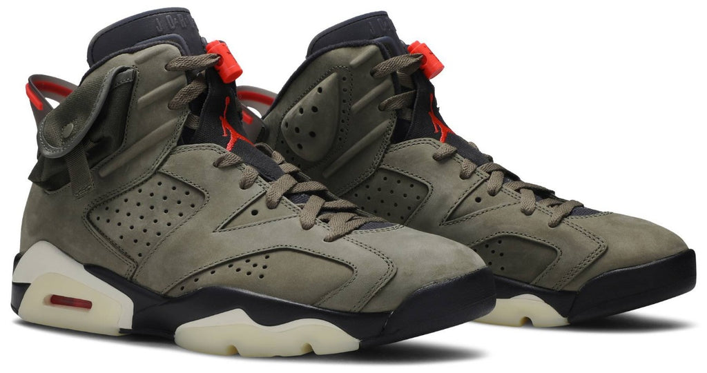Air Jordan 6 Retro x Travis Scott 'Olive' UK10 - Hype Vault Malaysia