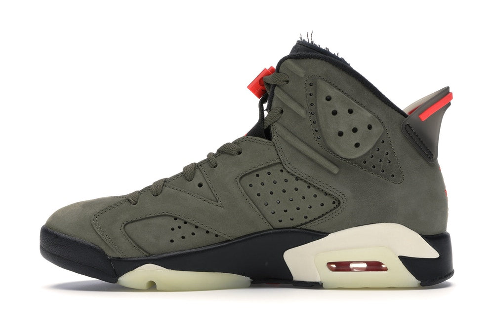 Air Jordan 6 Retro x Travis Scott 'Olive'