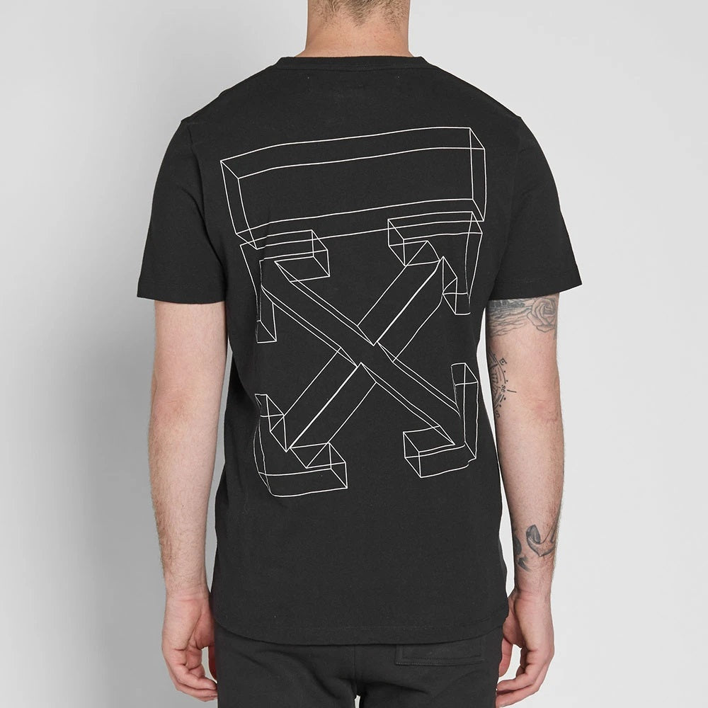 Off-White 3D Line Slim Tee (Size S)