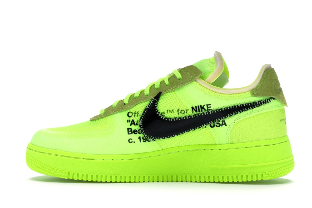 Off-White x Nike Air Force 1 Volt - Hype Vault Malaysia