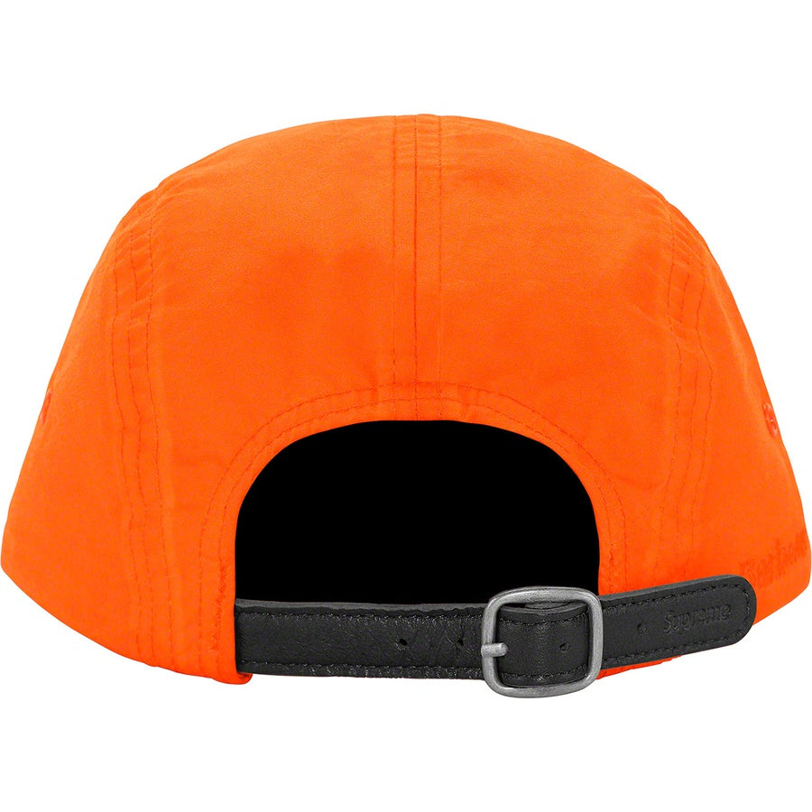 Supreme Barbour Waxed Cotton Camp Cap Orange - Hype Vault Malaysia