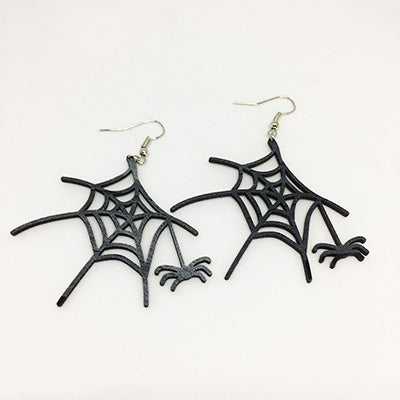 Earrings Spider web with Spider