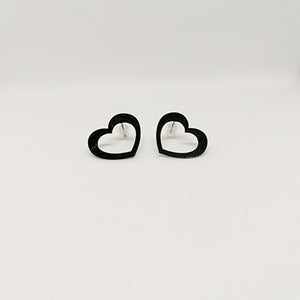 Earrings Small Empty Heart