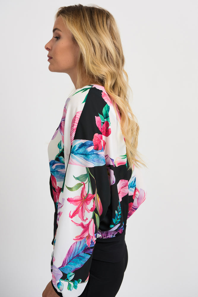 Joseph Ribkoff Print Blouse 201240 - The Coach Pyramids