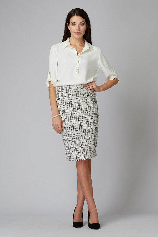 Joseph Ribkoff Spring 2020 - Skirt - 201526 - The Coach Pyramids