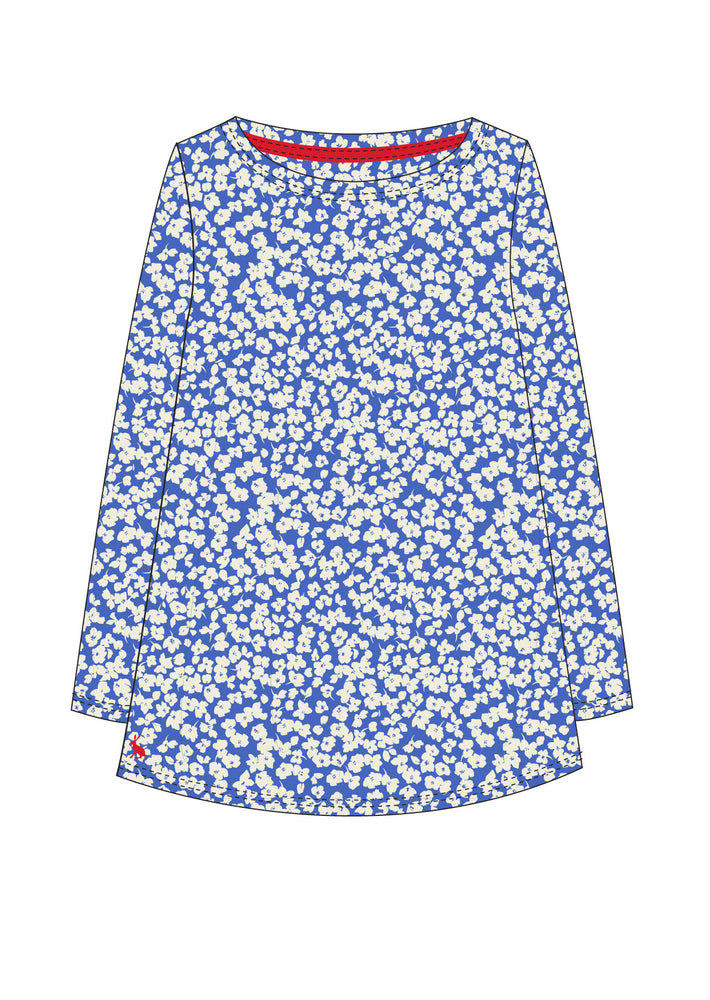 Joules Spring/Summer 2021 - Top - 213643 - Blue Flora - The Coach Pyramids