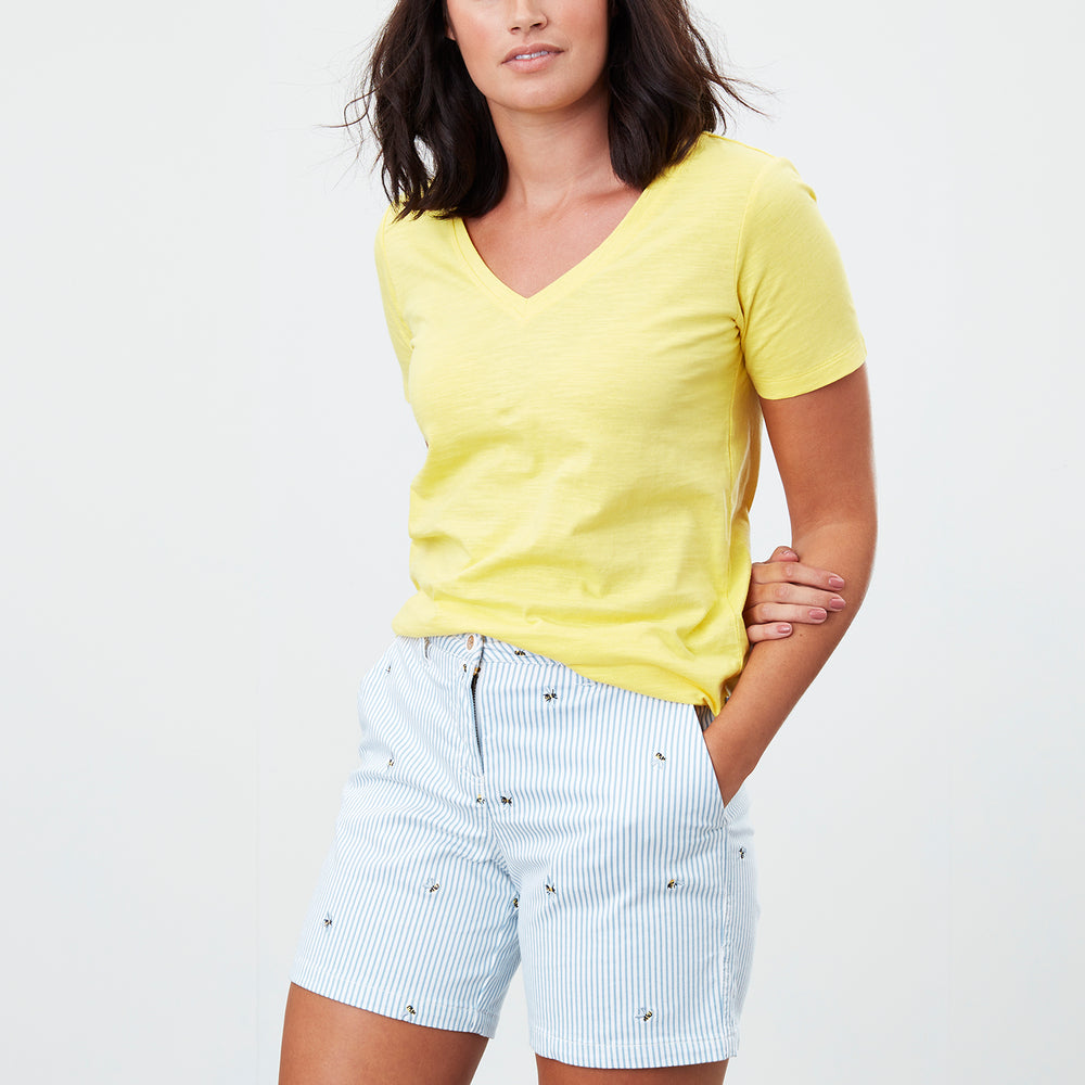 Copy of Joules Spring/Summer 2021 - Top - 213652 - Lemon Sherbert - The Coach Pyramids