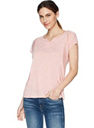 Sale  Tribal 3324O Short Sleeve Drop Shoulder Henley Top - The Coach Pyramids