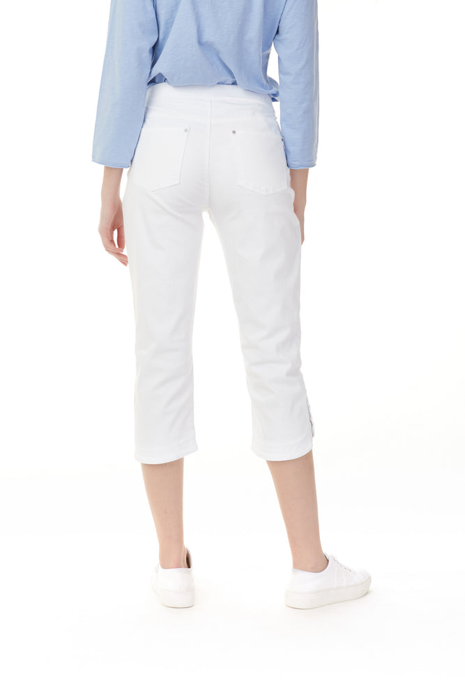 Charlie B Spring/Summer 2021 - Pant - C5374 - White - The Coach Pyramids