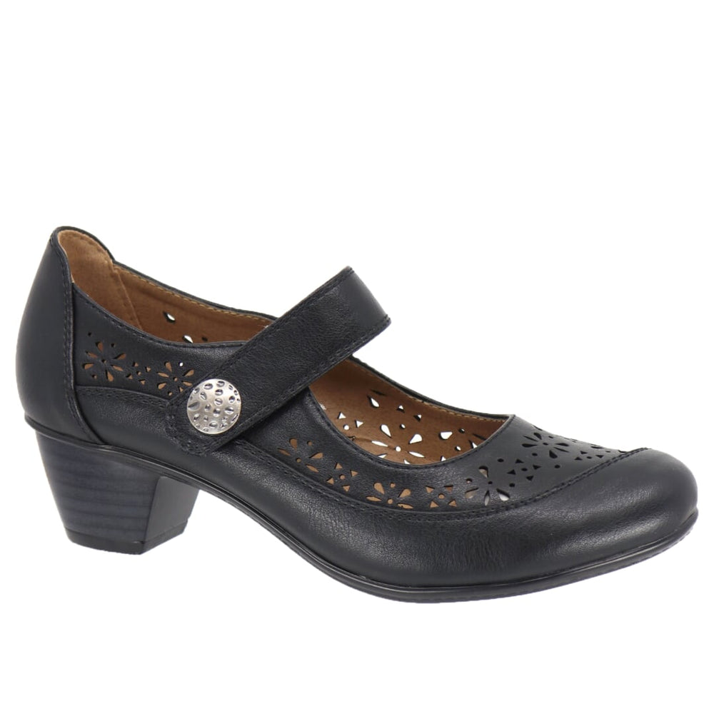 TAXI Claire-01 Shoe - Black - The Coach Pyramids