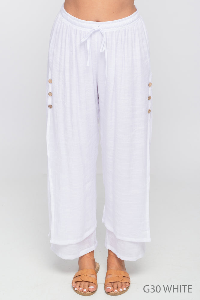 Creation - Gauze - 2-Layer Pants - G30 - The Coach Pyramids