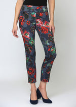 Lisette L Montreal Barbados Print Ankle Pant 64201 - The Coach Pyramids