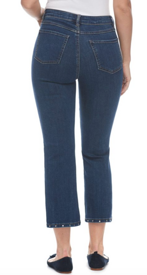 French Dressing Jeans Crop Pant 2052669 - The Coach Pyramids