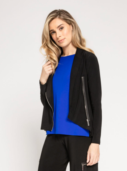 Sympli 25122Y Zest Crop Jacket - The Coach Pyramids