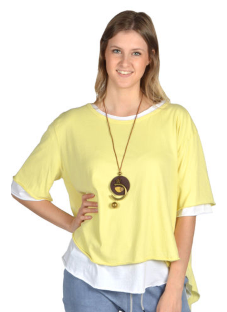 Catherine Lillywhite's ITXF12513 Tunic W/Necklace - The Coach Pyramids