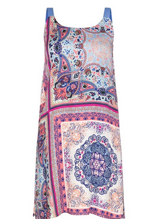 Tribal 6572O REVERSIBLE PRINTED DRESS - The Coach Pyramids