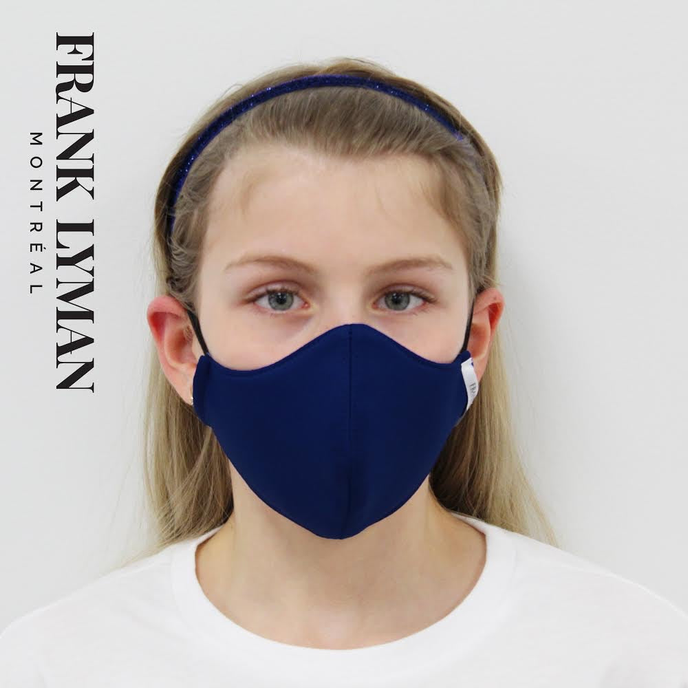 Frank Lyman Non Medical CHILDREN'S Unisex Face Mask K-20118 (Navy) - The Coach Pyramids