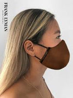 Frank Lyman Non Medical Face Mask M-20141 Faux Leather Look - The Coach Pyramids
