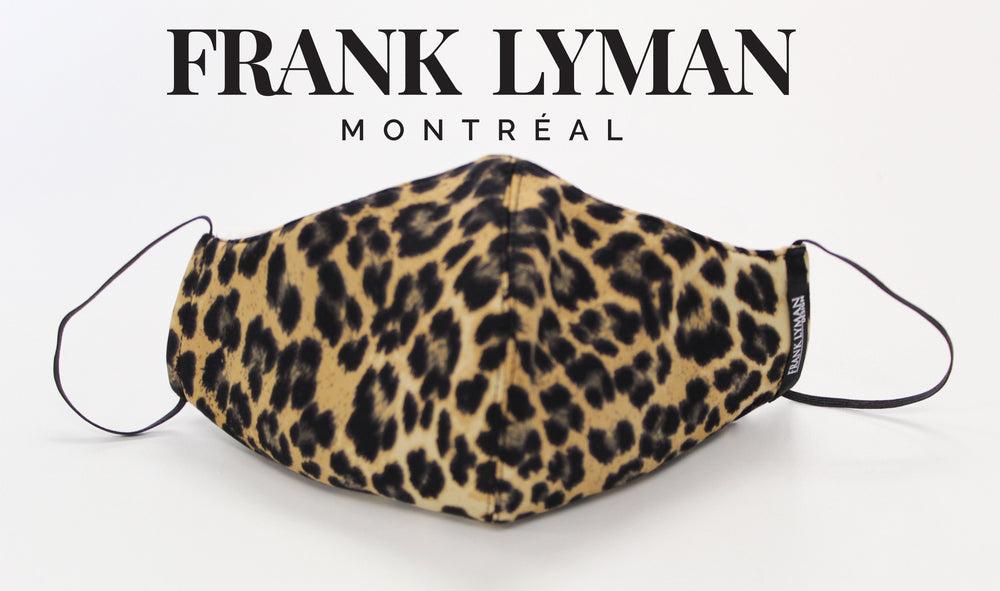 Frank Lyman Non Medical - Small Leopard Print Face Mask M-20127 - The Coach Pyramids