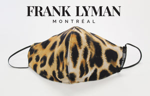 Frank Lyman Non Medical - Big Leopard Print Face Mask M-20130 - The Coach Pyramids