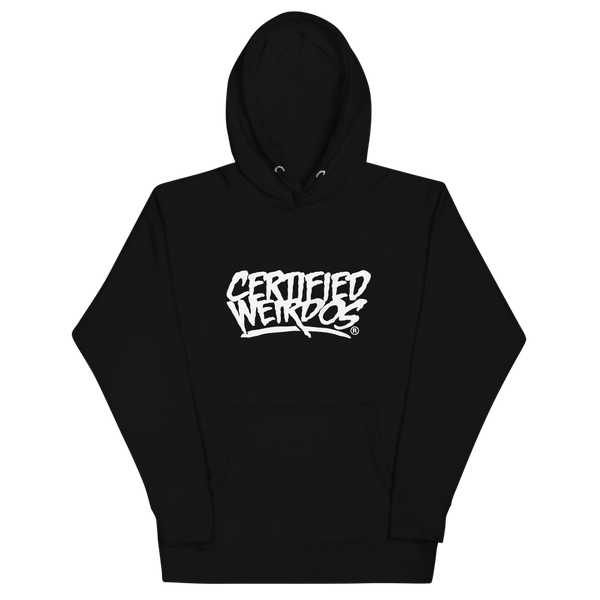 """Big Text"" Hoodie Black"