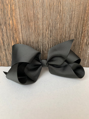 Hair Bow Black